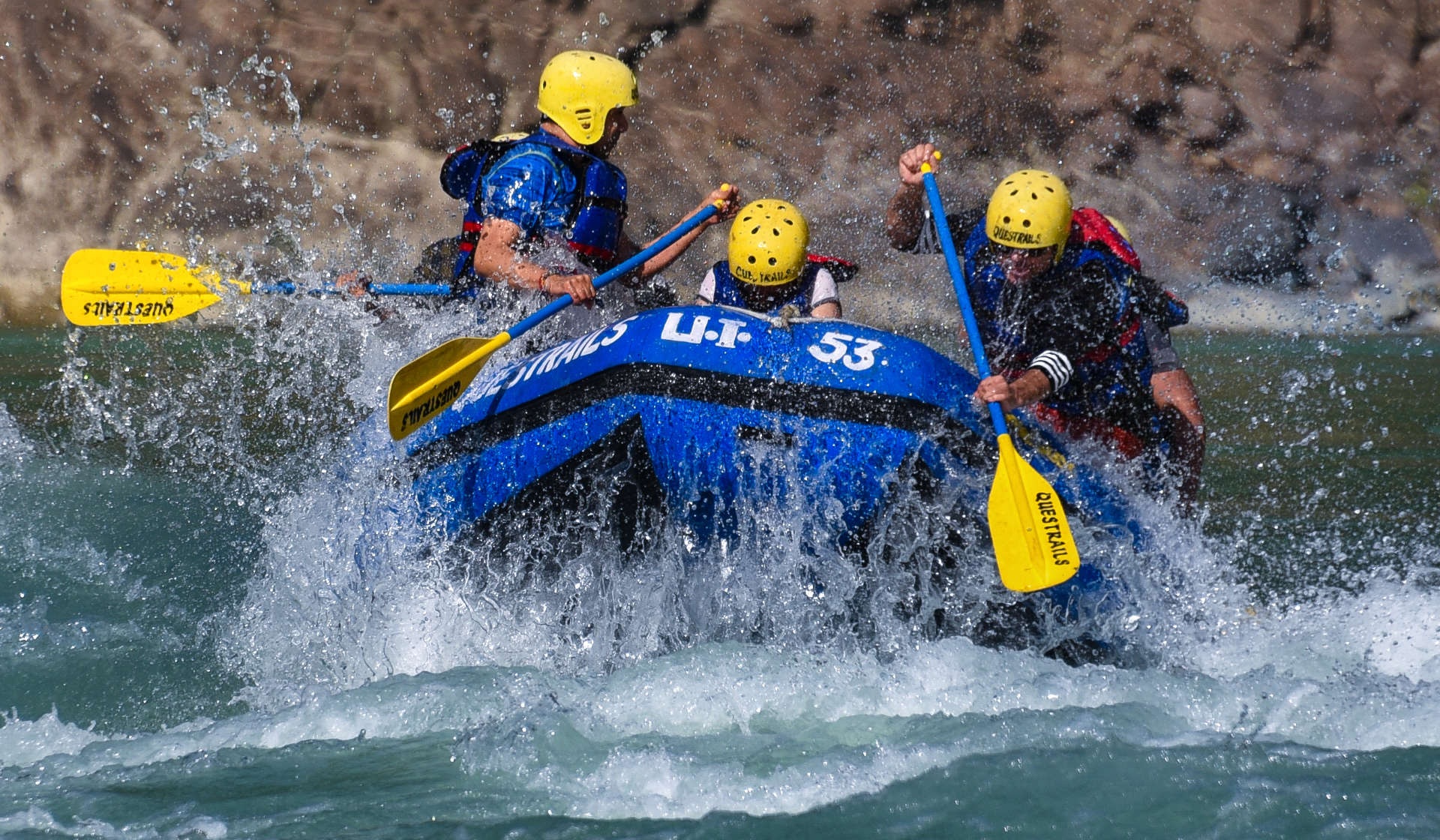 River Rafting with Questrails